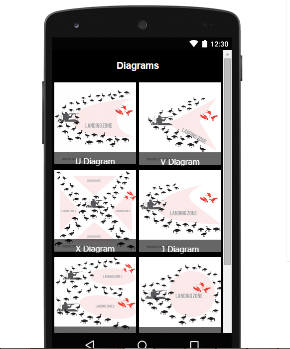 Goose hunting app amp diagrams android apps on google play