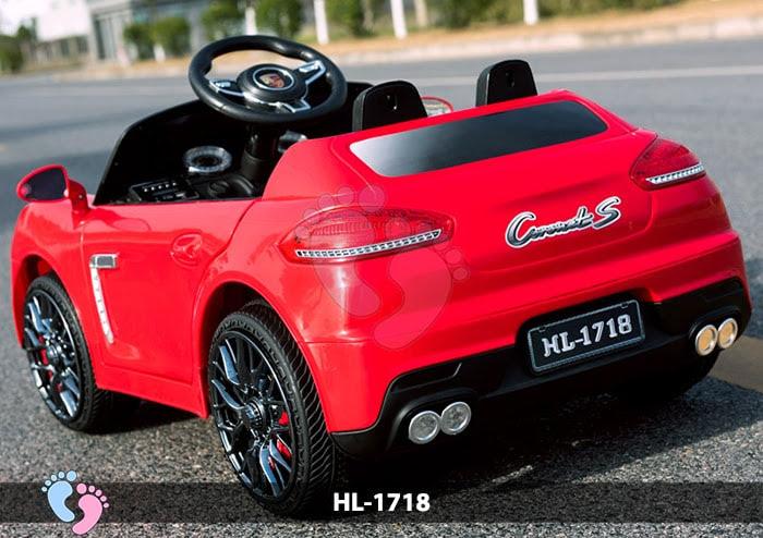 Xe hơi điện cho bé Porsche HL-1718 13