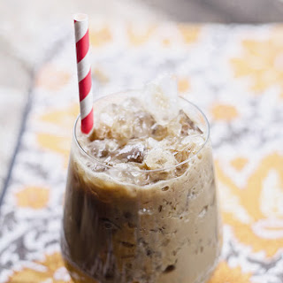 Spiked Iced Coffee.