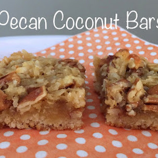 Pecan Coconut Bars