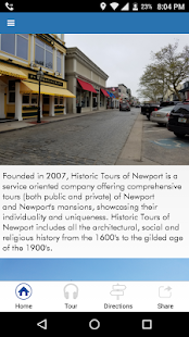 Historic Tours of Newport - Trolley Tour- screenshot thumbnail