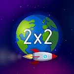 Space Math - Math game & multiplication tables Icon