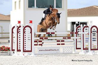 Photo: Felipe Ramos Guinato com o cavalo Reve De