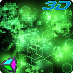 Abstract 3D Live Wallpaper Icon
