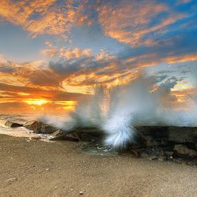 morning at manyar beach - bali by Tut Bolank - Landscapes Waterscapes ( bali manyar beach )