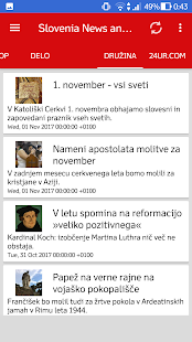 Slovenia News and Radio (Slovenija novice) - náhled
