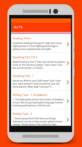 android IELTS quick course Screenshot 1