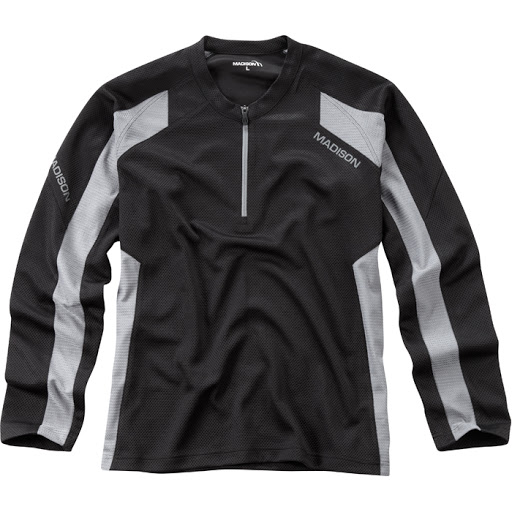 Madison Flux Singletrack L/S Cycle Top (Mens)