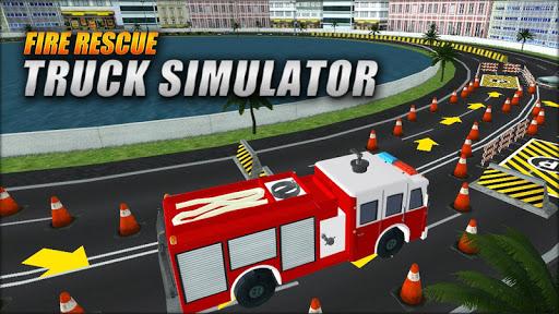 Fire Rescue Truck Simulator