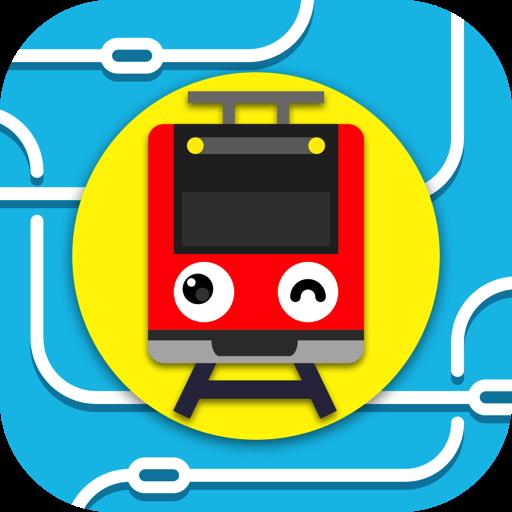 模擬App|ツクレール 線路をつなぐ電車ゲーム 子供も大人も運転手気分 LOGO-3C達人阿輝的APP