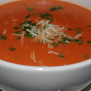 Asiago Tomato Basil Soup.