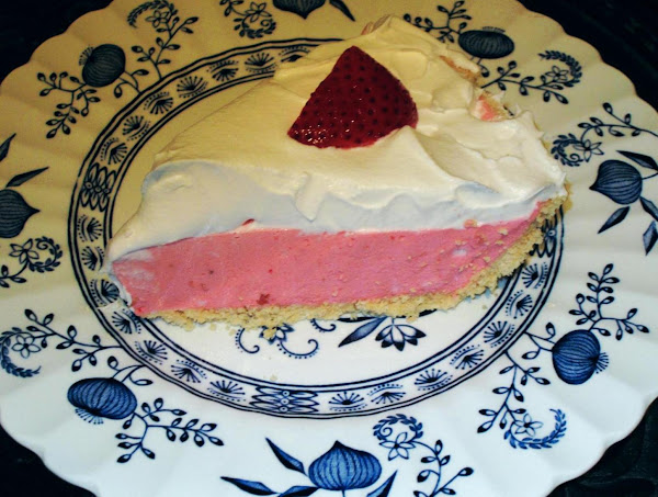 Strawberry Cream Pie (low-fat & Low-sugar) Recipe