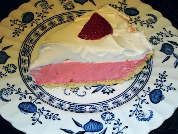 Strawberry Cream Pie (low-fat & Low-sugar)