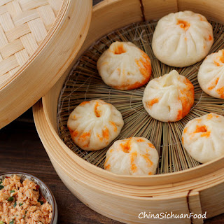 Vegan Baozi(Chinese Steamed Buns).