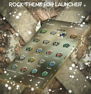 Rock Theme for Launcher - náhled
