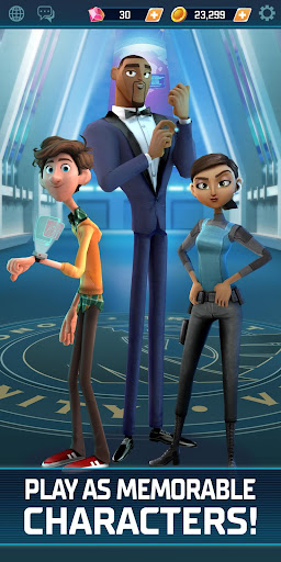 Spies in Disguise: Agents on the Run apkpoly screenshots 5
