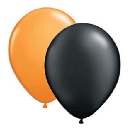 Ballongkombo Orange & Svart