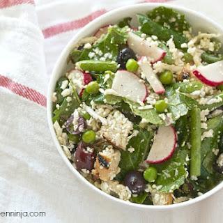 No-Cook Raw Vegetable Salad.