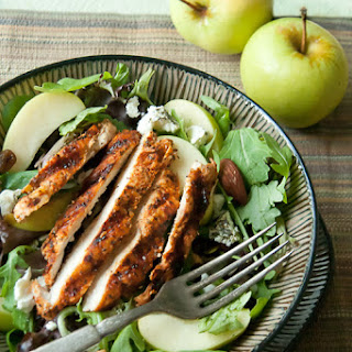 Fall-Inspired Grilled Chicken Salad Recipe