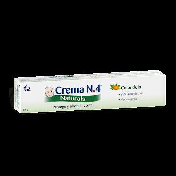 Crema Anti Pañalitis   CREMA N4 Natural Tubo x20g