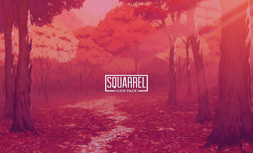 Squarrel Icon Pack