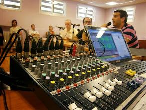 Photo: Bandidos de la Hoya. Primer Programa de la Temporada. Septiembre 2012. Entrevistado: Fran Montaner. Radio Huesca