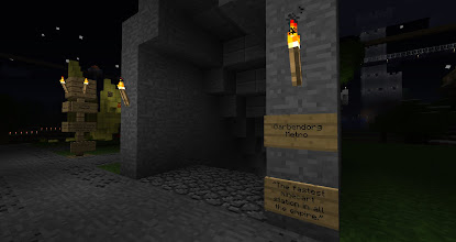 Photo: There's a series of tunnels underneath the city, making the framework for a network of rails.  Mostly built by Ben.