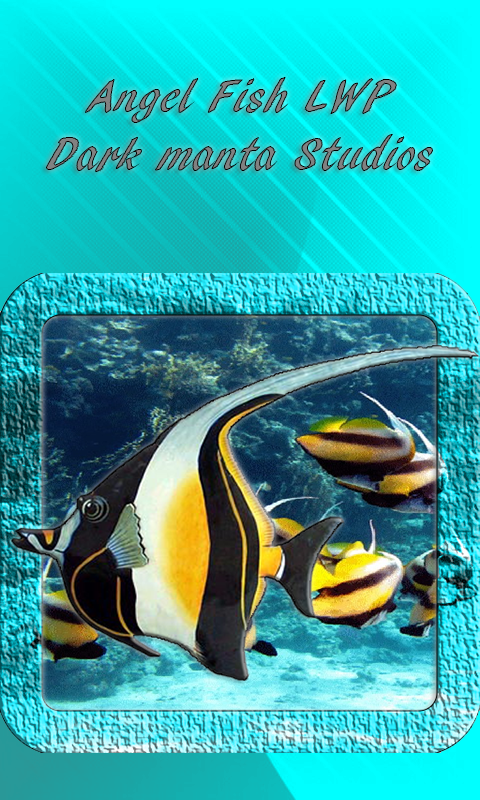 Angel fish live wallpaper android apps on google play for Google fish tank mrdoob