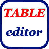 Table files CSV