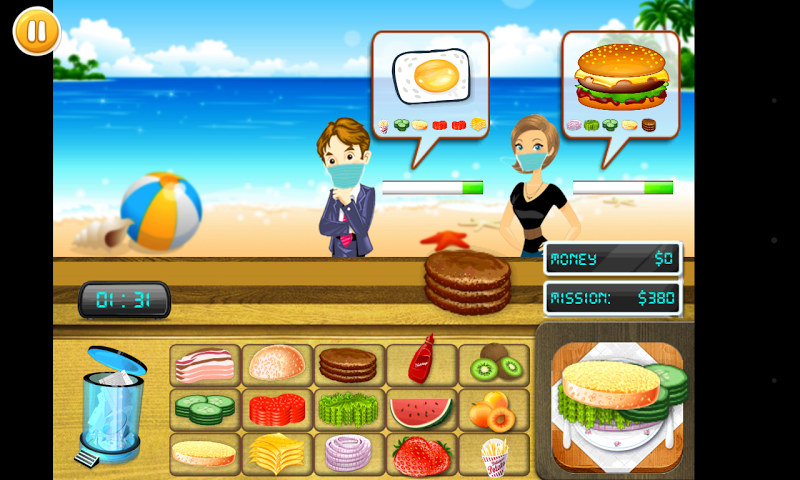 android Ultimate Chef Service Screenshot 2
