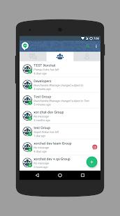 XorChat - náhled