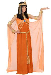 Klänning Cleopatra, aprikos