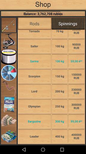 True Fishing (key). Fishing simulator 1.9.8.428 screenshots 2