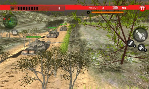 Real Tanks Missions - náhled