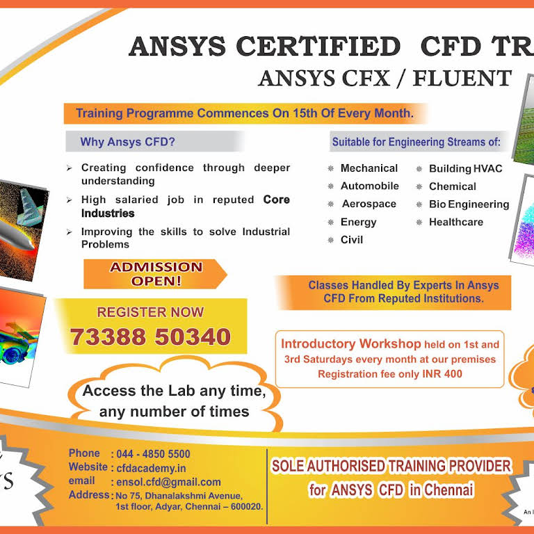 EnSol Academy - CFD Training Centre in Chennai !