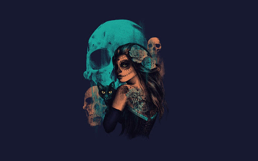 Mexican Skull Pack 2 Wallpaper