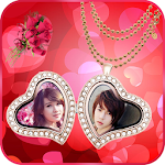 Locket Love Photo frame Icon
