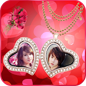 Locket Love Photo Frames Free