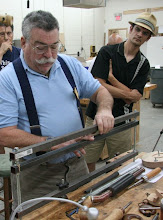 Photo: Elliot Schantz made a large rear hollowing bar stabilizer, ala Lyle Jamieson.