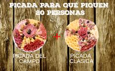 Picada Party Pican 20 Personas