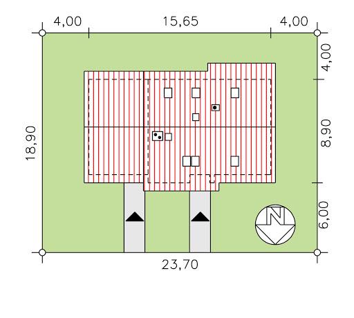 BS-07 dwurodzinny - Sytuacja