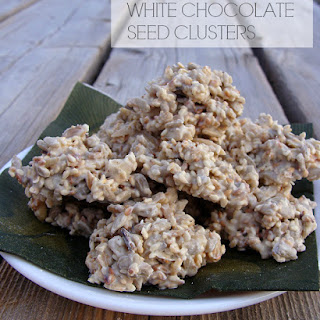 "White Chocolate ""Bird Seed"" Clusters"
