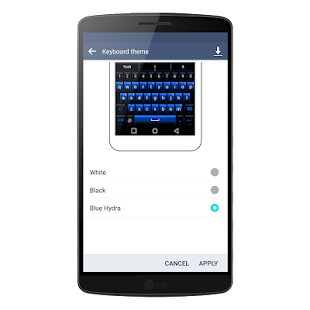 How to mod LG G4 V10 Keyboard Blue Hydra 1 0 1 unlimited apk for android
