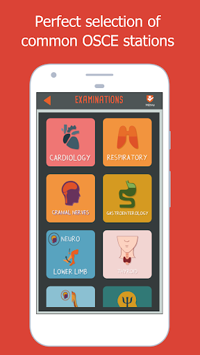 OSCE PASS screenshot for Android