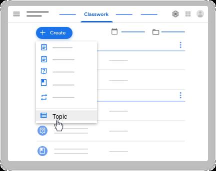 Create topic