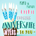 French Birthday Greeting Cards to Family & friends icon