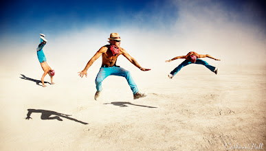 Photo: Pilgrims of Black Rock #5: Image series of the participants of the annual Burning Man Festival in Black Rock Desert. Copyright: Catherine Hall Studios.