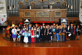Photo: Participants of the concert with the Embassies representatives