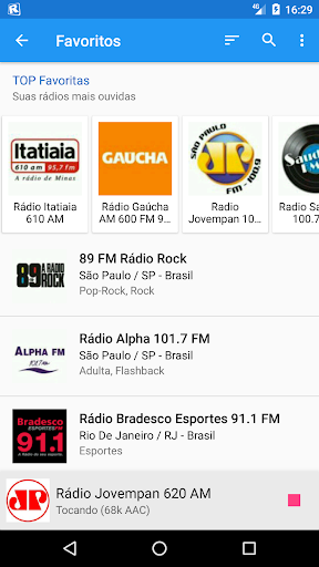 RadiosNet screenshot 2