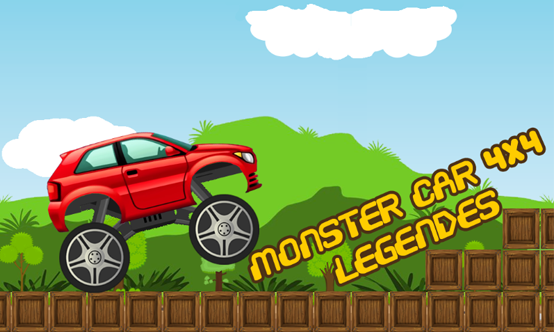 Monster Car 4x4 Legends – Capture d'écran
